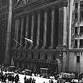 The New York Stock Exchange by Underwood Archives