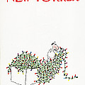 The New Yorker Cover - December 14th, 1981 by Arnie Levin
