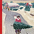The New Yorker Cover - December 19th, 1942 by Garrett Price