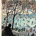 The New Yorker Cover - February 4th, 1961 by Ilonka Karasz