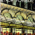 The New Yorker Cover - January 18th, 1988 by Roxie Munro