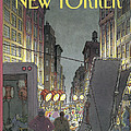 The New Yorker Cover - March 8th, 1993 by Roxie Munro