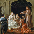 The Newlyweds by Adam Johann Braun