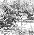 The Newport Pagnel Steeple Chase by John Frederick Herring Snr