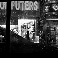 The Night Side Of Town - New York by Miriam Danar