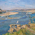The Nile Near Aswan by Max Slevogt