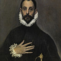 The Nobleman With His Hand On His Chest by El Greco