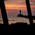 The North Pier Lighthouse by Deborah Klubertanz