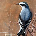 The Northern Wheatear  by Sandhya Manne