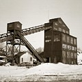 The Northwest Coal Company Breaker Eynon Pennsylvania 1971 by Arthur Miller