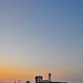 The Nubble Lighthouse Vertical by Catherine Easton