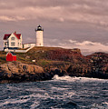 The Nubble Lighthouse  by Susan Garver