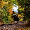 The Number 40 Rounding The Bend by Jeff Folger