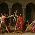 The Oath Of Horatii by Jacques Louis David