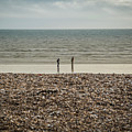 The Ocean Can Make You Feel Small, Bognor Regis, Uk. by William Mankelow