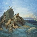 The Oceanides 1869 by Dore Gustave