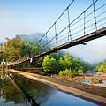 The Ocoee River Dam by Debra and Dave Vanderlaan