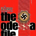 The Odessa File Frederick Forsyth Book Cover 1972 Color Added 2016 by David Lee Guss