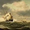 The Olbers At Sea by Carl Justus