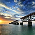The Old Bridge Sunset - V2 by Eyzen M Kim
