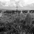 The Old Cemetery At Galisteo by David Lee Thompson