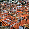 Dubrovnik Rooftops by Peter Hogg