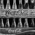 The Old Coke Stack In Black And White by JC Findley