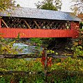 The Old Creamery Covered Bridge by Susan Rissi Tregoning