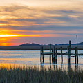 The Old Dock - Charleston Low Country by Donnie Whitaker