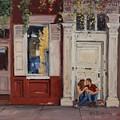 The Old Doorway by Roelof Rossouw