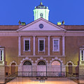 The Old Exchange And Provost Dungeon At Twilight Charleston South Carolina by Dawna Moore Photography