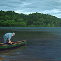The Old Green Canoe by Jan Lyons