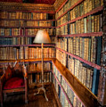 The Old Library by Adrian Evans
