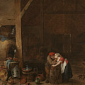 The Old Man And The Maid by David Teniers the Younger