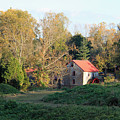 The Old Mill At Guilford II by Suzanne Gaff