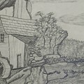 The Old Mill by Carla Vivrette