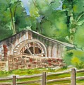 The Old Mill by Kathy Mitchell