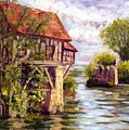 The Old Mill Of Vernon by Elena Sokolova