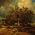 The Old Oak 1870 by Dupre Jules