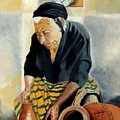 The Old Potter by Jane  Simpson