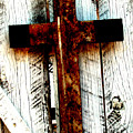 The Old Rusted Cross by Wayne Potrafka