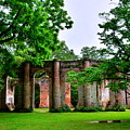 The Old Sheldon Church Ruins 2 by Lisa Wooten