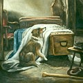 The Old Shepherd's Chief Mourner After Sir Edwin Landseer by Douglas Manry