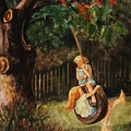 The Old Tire Swing by Marilyn Smith