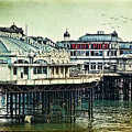The Old Victorian West Pier by Chris Lord