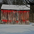 The Old Weathered Barn by Robert Pearson