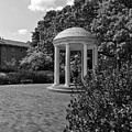 The Old Well At Chapel Hill In Black And White by Jill Lang