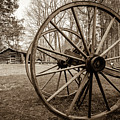 The Old Wheel by Michael Scott