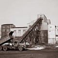 The Olyphant Pennsylvania Coal Breaker 1971 by Arthur Miller
