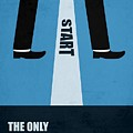 The Only True Failure Is Giving Upcorporate Start-up Quotes Poster by Lab No 4